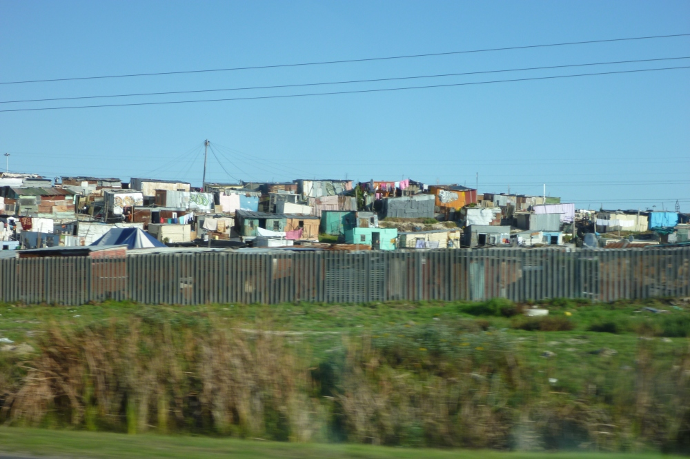 a township outside Cape Town