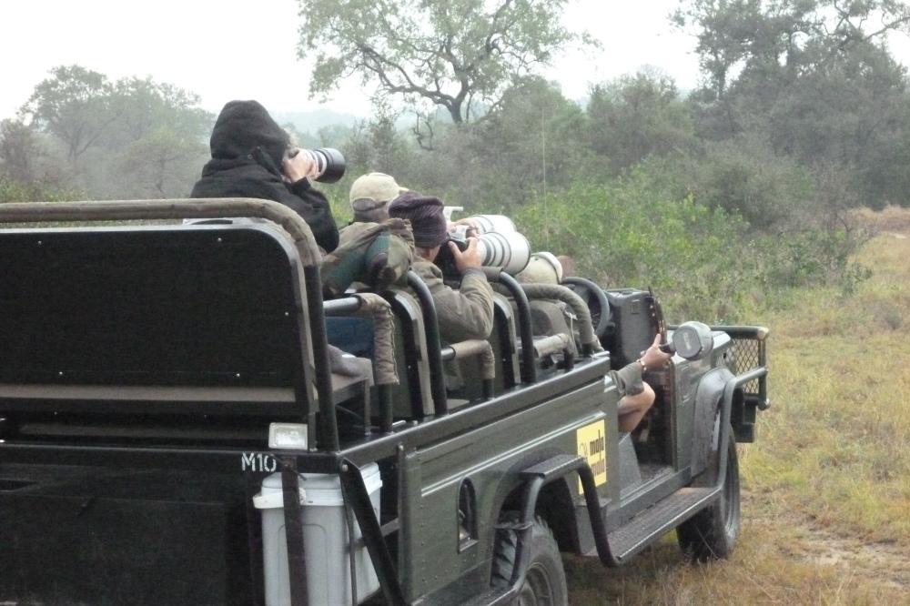 Safari-worthy equipment
