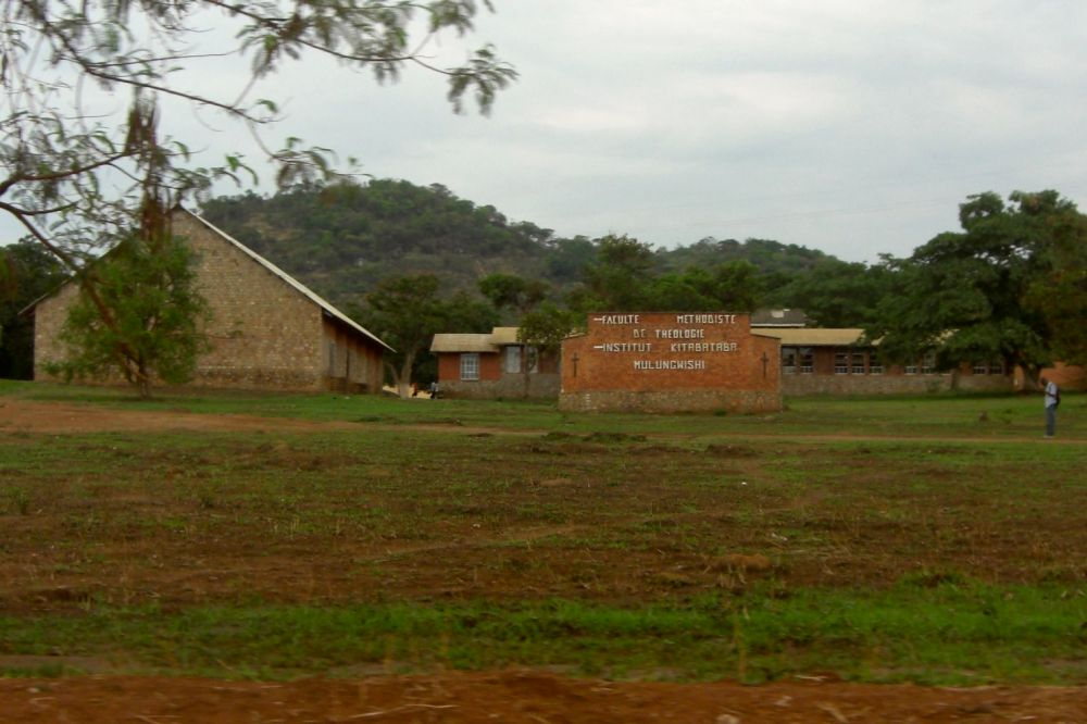 Mulungwishi Methodist campus -- many friends & family have passed through here