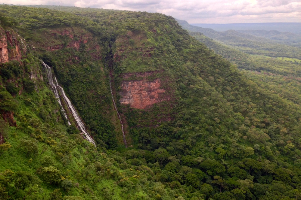 Compared to our first trip in the green season of December (and the banner photo of Adventures in Congo)
