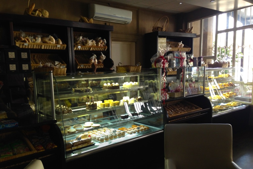 Some of the places in Lubumbashi are super nice, like this new bakery/restaurant...