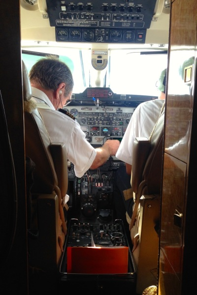 Our fearless pilots.