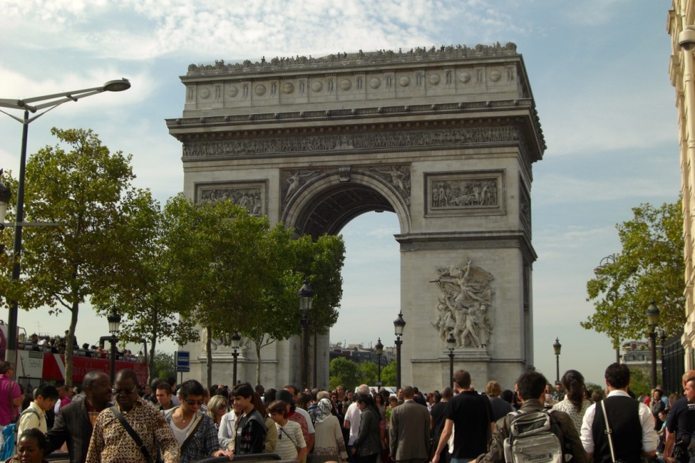 The Arc de Triomphe, September 2011