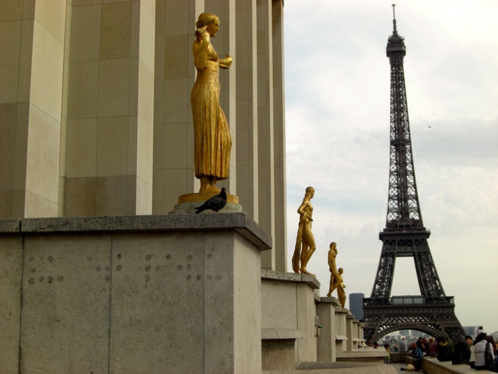 The Eiffel Tower from the Trocadero, September 2011