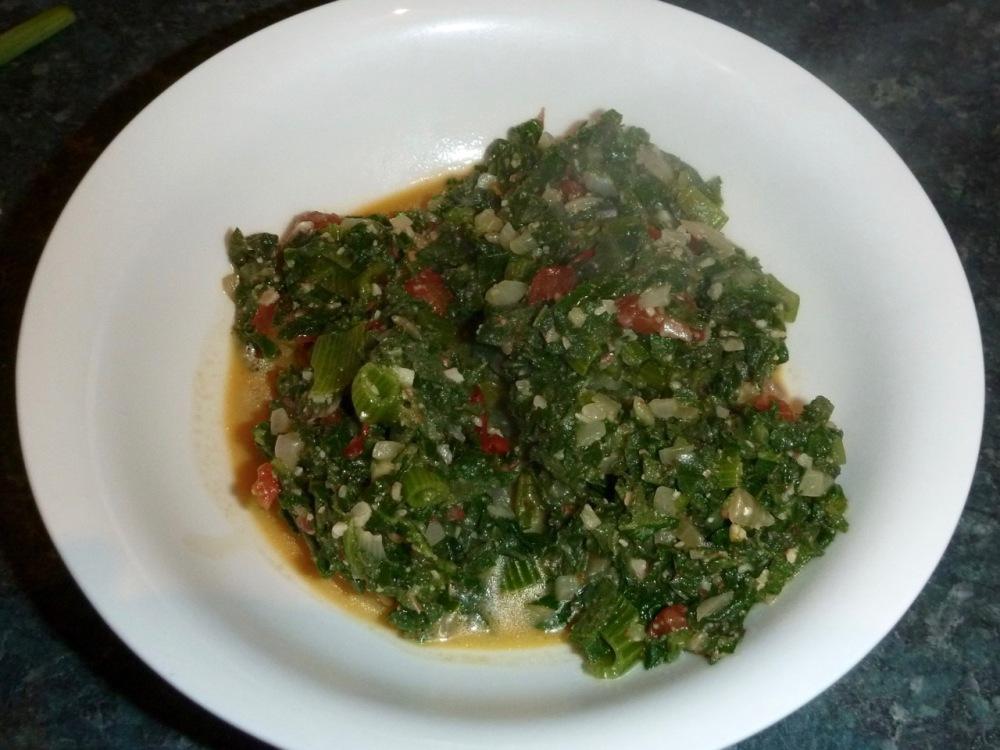 kibwabwa (squash leaves)