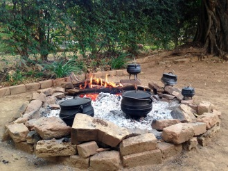 November 2015: Cooking up potjies with friends